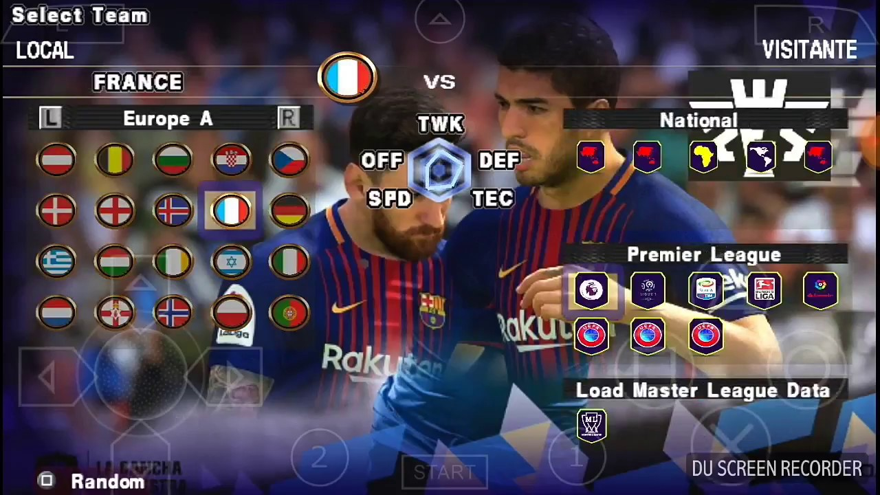 PES 19 PPSSPP TEXTURES HD by Chanel GMF
