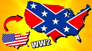 The South Rises Again in the USA! | Hearts of Iron 4 (HOI4 Man the Guns)
