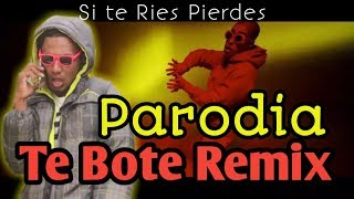 Te Bote Remix - Ozuna, Bad Bunny, Nicky jam, Casper, Nio García, Darell,   PARODIA Ets Daniel