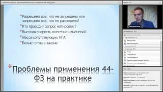 Спорные вопросы правоприменительной практики 44 ФЗ