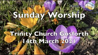Mothering Sunday 14th March 2021