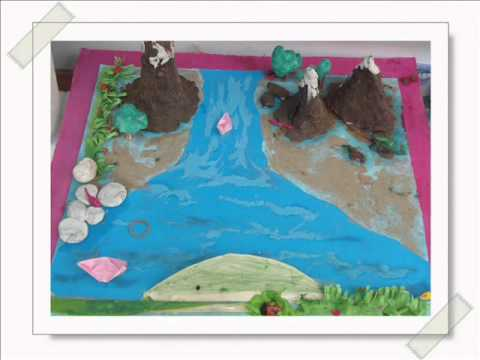 Landform Projects By Grade Iii Students Of Ups Iv - Youtube