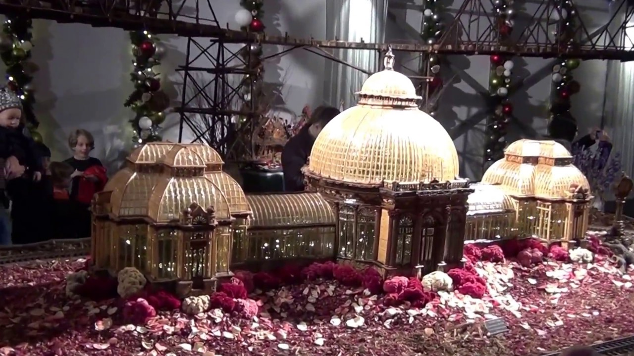 Holiday Train Show At Ny Botanical Gardens 2016 Hd Youtube