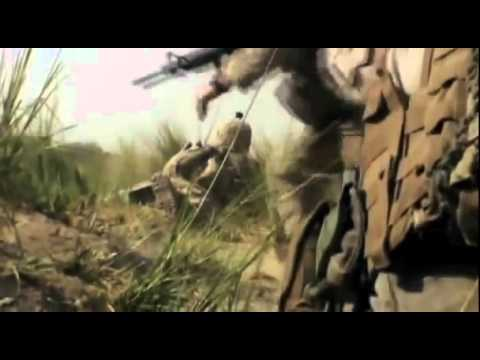 COMBAT FOOTAGE OF U.S. MARINES FIGHTING IN AFGHANISTAN- HELMAND PROVINCE