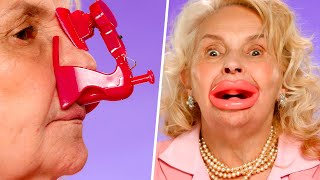 Grandma tries 7 WEIRD BEAUTY GADGETS