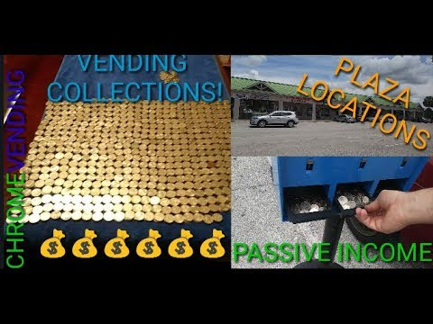 Vending Machine Money Collections And Why I Like Plaza Locations