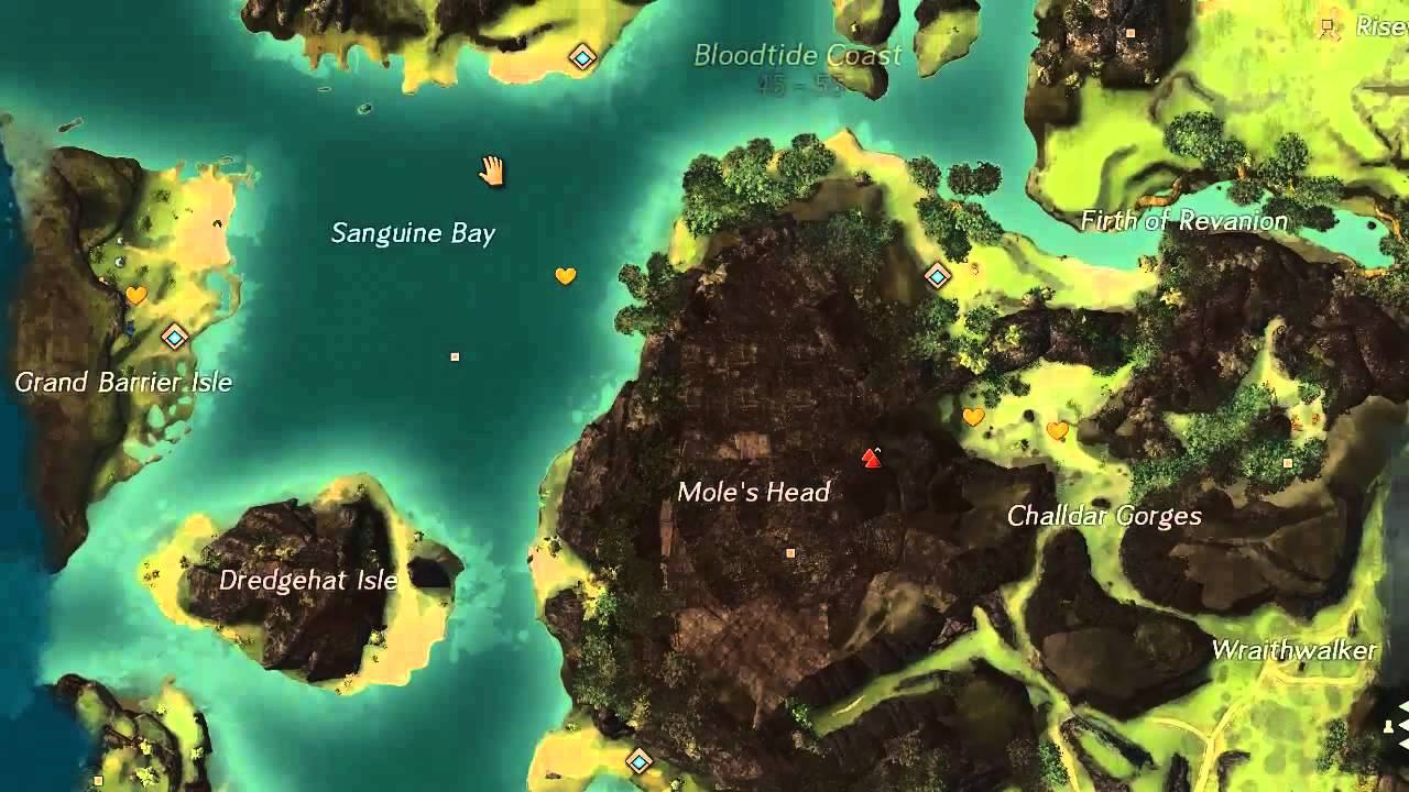 Bloodtide Coast   Completed Map   YouTube