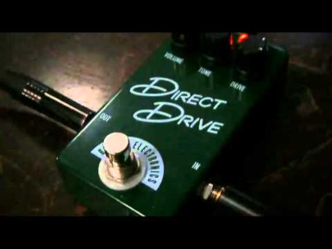 Fragile Tone's SoundRoom (Barber Direct Drive Compact British Overdrive Pedal Test Drive)