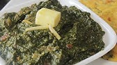 Sarson Ka Saag Mustard Greens With Spinach Recipe By Manjula Youtube