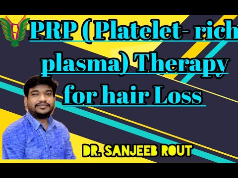PRP (Platelet-Rich Plasma) therapy For Hair Loss Dr. Sanjeeb Rout  Balaji skin hair and Laser Clinic