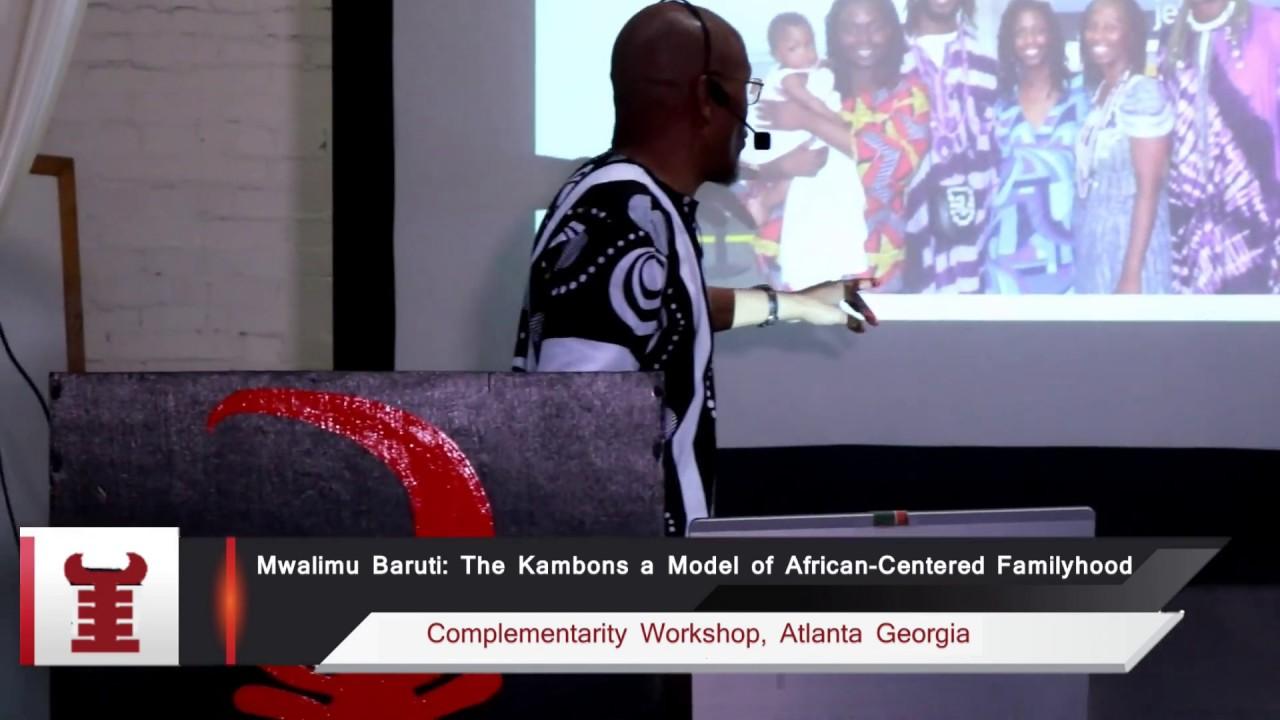 Mwalimu Baruti on the Kambons as models of Afrikan=Black Familyhood