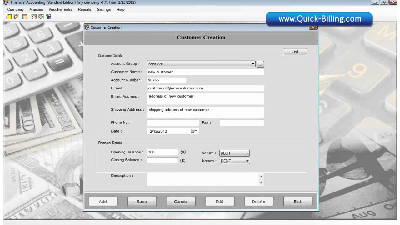 Quickbillingcom Billing Invoice Invoicing Financial Accounting - Quick invoice maker