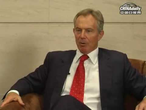 China Daily Exclusive Interview with Tony Blair