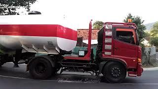 TRUCK Mixer Truk Tangki Pertamina DUMP Truck Chenglong FAW Hino Isuzu UD Quester