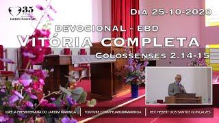 Colossenses 2.14-15 - Vitória completa