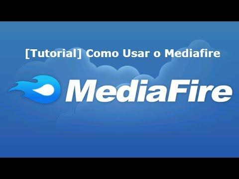 Como usar o Mediafire |como Fazer Upload e Download de fotos vídeos e arquivos-att 2014