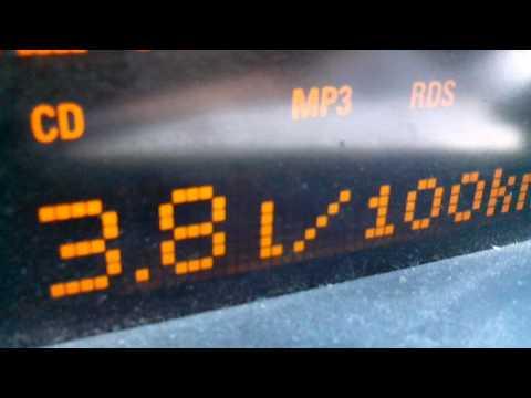 TEST HHO Opel astra H 1,3cdti 90km/h 6.3Amp 20140518 13:12