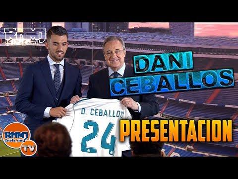Presentación de DANI CEBALLOS Nuevo jugador Real Madrid (20/07/2017) HD