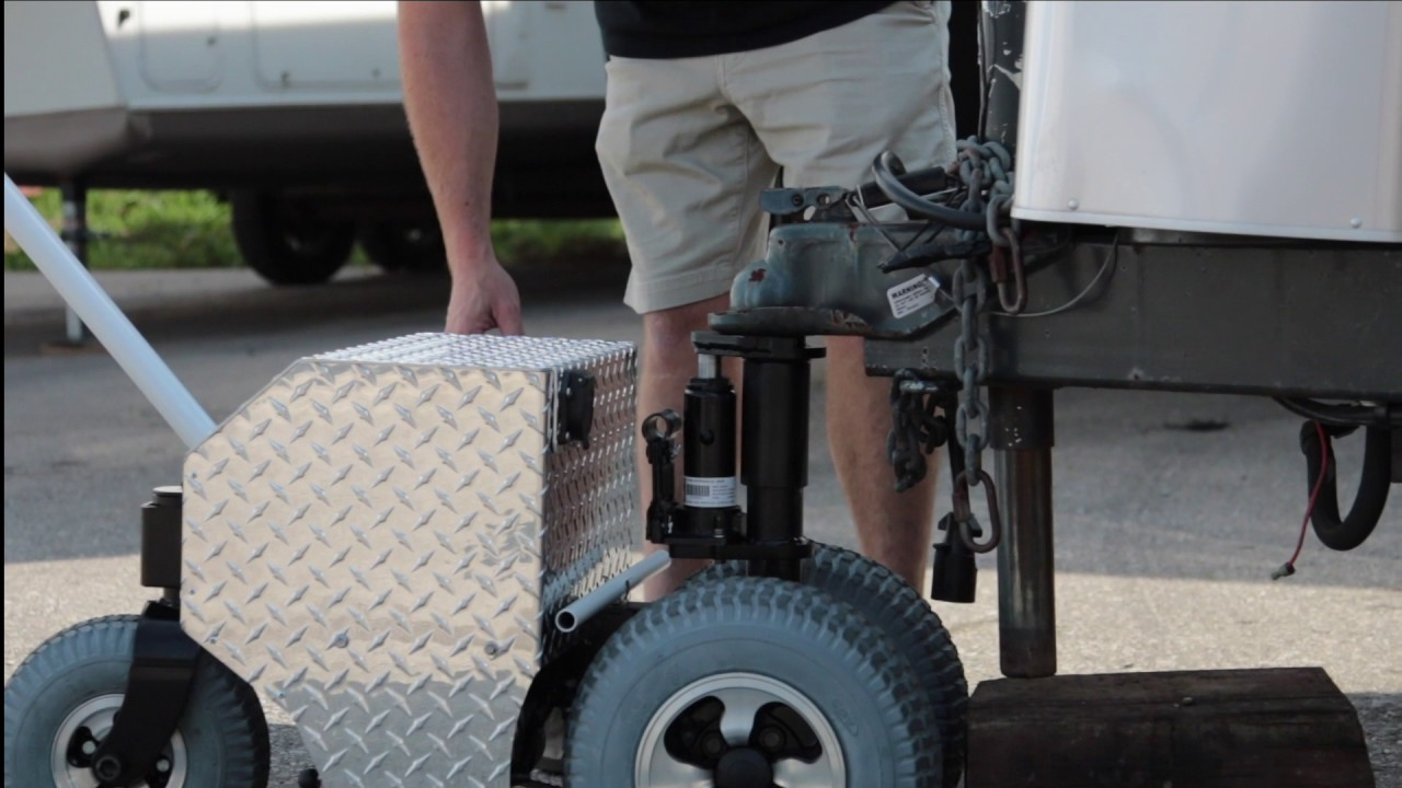 Motorized Trailer Mover Trax Power Dolly Systems Inc