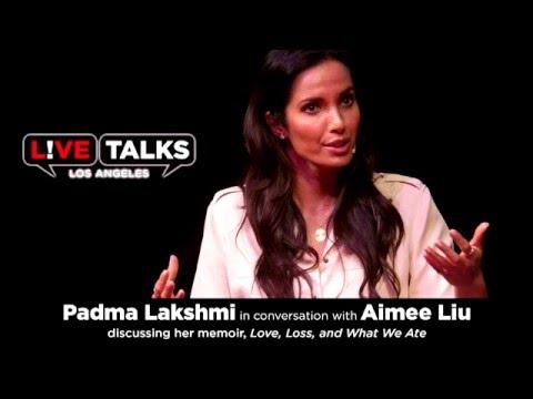 Padma Lakshmi In Conversation With Aimee Liu