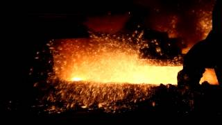Tapping of a blast furnace