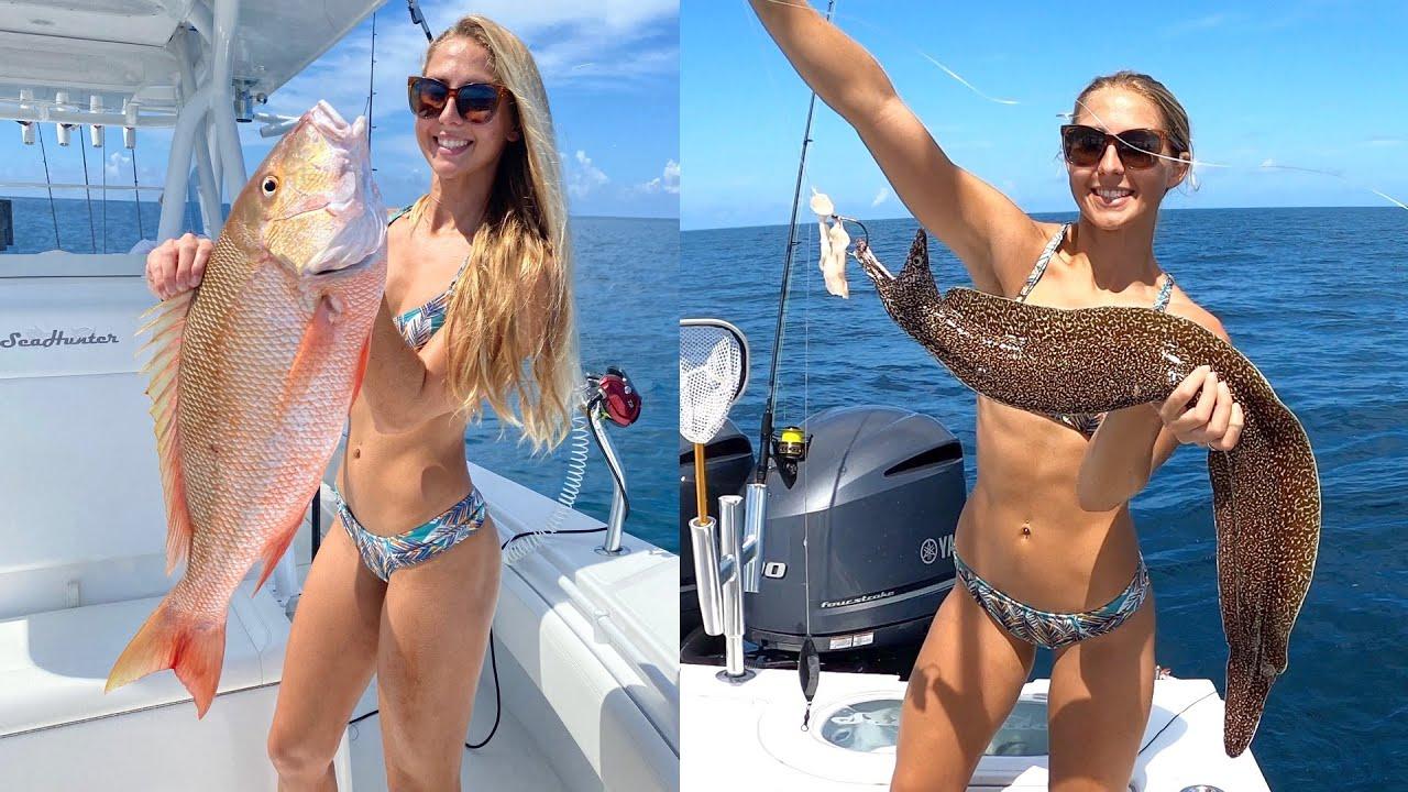 Catching EXOTIC Marine Animals & My BIGGEST Mutton Snapper!