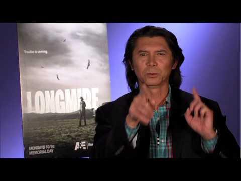 Longmire Season 2 Exclusive: Lou Diamond Phillips - YouTube
