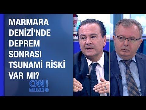 Marmara Denizi'nde deprem sonrası tsunami...