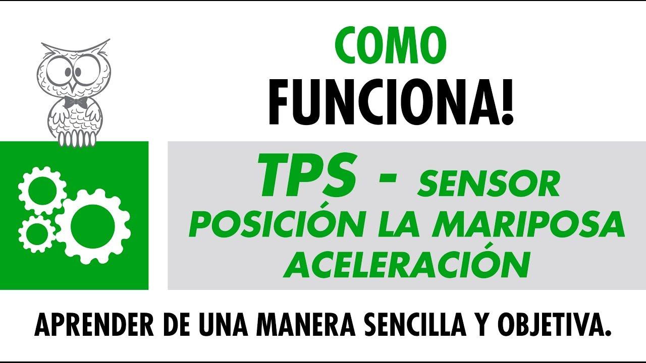 Como Funciona Tps Sensor Posici 211 N La Mariposa