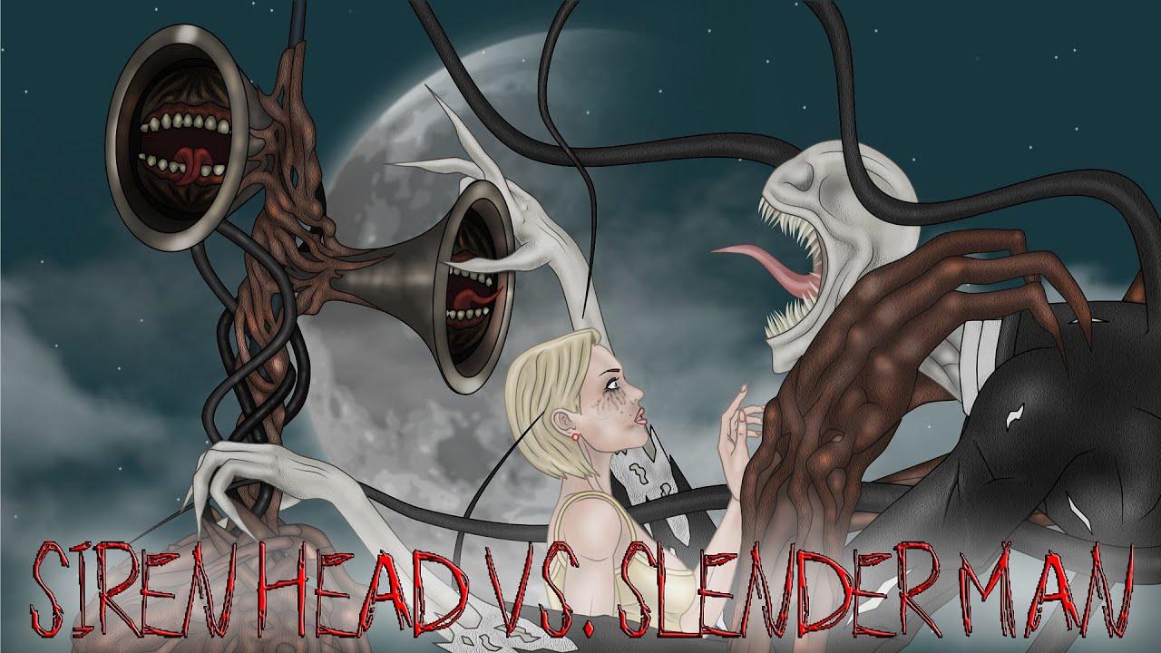 Сиреноголовый против Слендермена: Глава 1 - Первая встреча