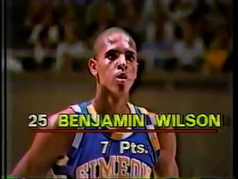 FULL Benji Wilson Basketball Game: 1984 IHSA State Championship Q/F - Chicago Simeon vs. Rock Island