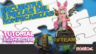Open Portal for FIFTEAM egg TUTORIAL Roblox in Spanish 11 pieces of the latest egg puzzle 01