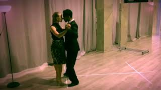 Tango lesson: the degree of pivot