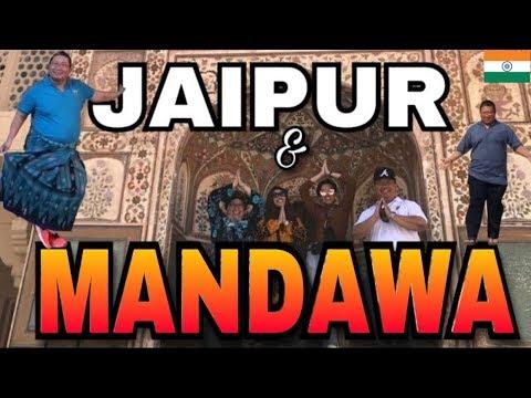 INDIA'S GOLDEN TRIANGLE PART 2 // JAIPUR & MANDAWA, RAJASTHAN