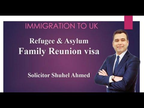 Family Reunion Visa Application     How to apply
