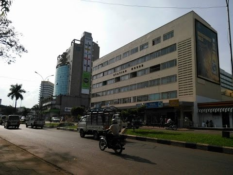 Drive through Kampala City, Wandegeya to Nakawa 2014