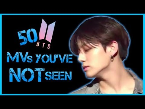 50 BTS MVs You've Probably Not Seen (NEW ARMYs here's what you missed!)