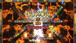 Luxor 2 HD Expert Mode Stage 14: An Expert Ending