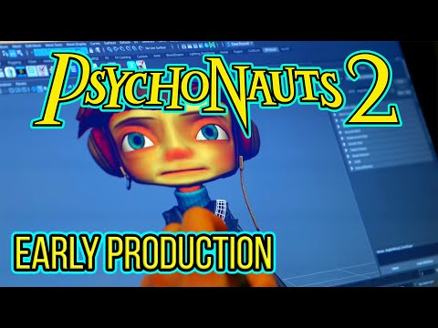 Psychonauts 2 - Early Production (HD Gameplay)