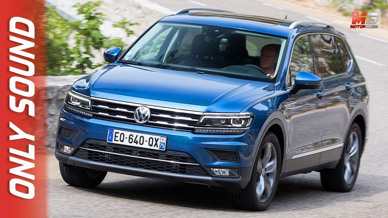 new volkswagen tiguan allspace 2018 first test drive only sound youtube. Black Bedroom Furniture Sets. Home Design Ideas