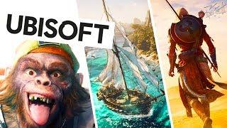 Конференция Ubisoft - E3 2017 - Beyond Good and Evil 2, AC: Origins,  Crew 2, Mario + Rabbids