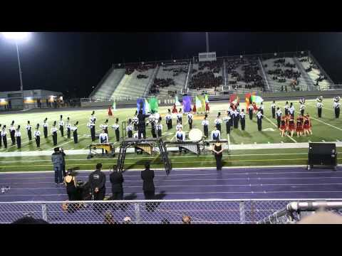 Gladys Porter High School Marching Band at Pigskin Competition 2013