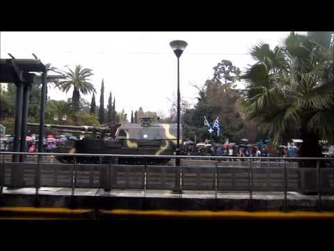Athens Greece celebrates Independence Day  with military parade
