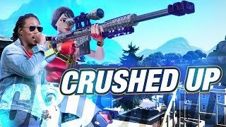 Fortnite Montage - &#39&#39CRUSHED UP&#39&#39 (Future)