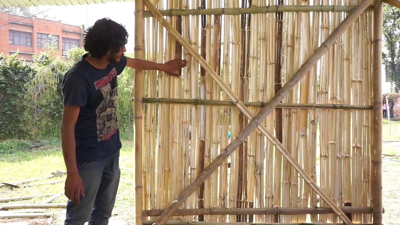 murali-rama house - part 3/4: bamboo wall system 2017-01-09