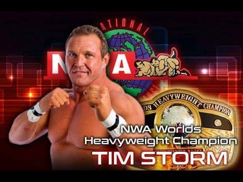 Tim Storm: NWA World's Heavyweight Champion