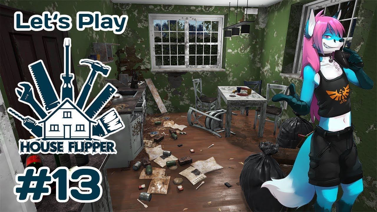 Let\'s Play House Flipper #13 - Wohnzimmer [Blind/Deutsch/HD]