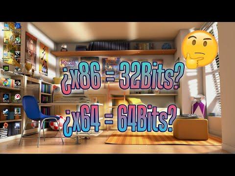 Por Qué A Los Sistemas Operativos De 32Bits Se Les Denomina X86 En Windows | X86-64 64Bits