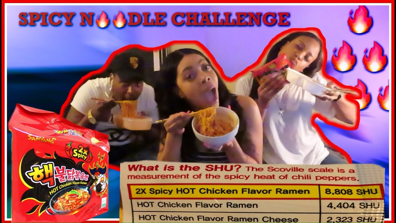 ????2X SPICY NOODLE CHALLENGE???? | ????QUARANTINE CHALLENGE ???? | HILARIOUS REACTION????