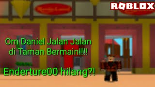Role replacement between Enderture Ama Om Daniel-Roblox Indonesia